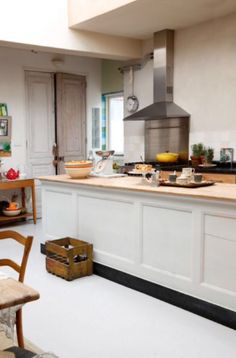 "This spacious kitchen is from our feature ""Loft of her Life"""