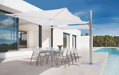Parasols | Sunshades | Spectra | UMBROSA | Dirk Wynants. Check it out on Architonic - Guarda-sol - Ombrelone articulado e moderno.