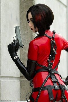 #Latex #Samurai #Cosplay Model: #CynCaelyx Movies & Comics Wallpapers http://www.mcwallpapers.net/