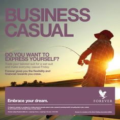 Embrace Your #Dream: Forever Gives You the Flexibility and Financial Rewards You Crave.