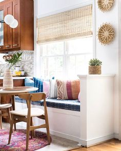 boho chic breakfast nook