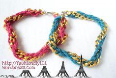 DIY: Chain Bracelet