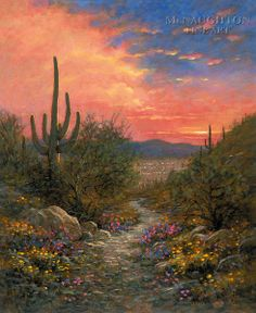 Spanish Artists In Utah Paintings Of Monument Valley