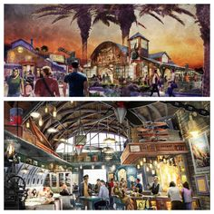 Exciting news: Jock Lindsey's Hangar Bar – a new Disney-owned and operated aviation-themed lounge – is set to open this fall at Downtown Disney at Walt Disney World Resort! With a prime location along Lake Buena Vista, this venue will feature unique cocktails and small plates. Disney World Planning, Disney World Vacation, Disney Cruise Line, Disney World Resorts, Disney Vacations, Disney Trips, Disney Travel, Florida Resorts, Orlando Resorts