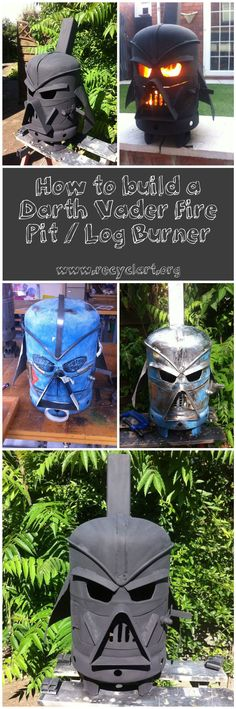 Several days ago, we shared the video below of this amazing Darth Vader fire pit / log burner, and it …