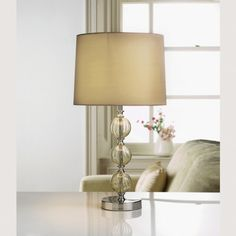 New York Table Lamp - Champagne