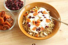 Warm Wheat Berry Breakfast | Healthy Ideas for Kids