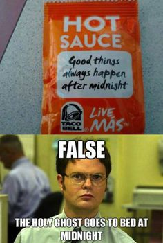 I know its an old one but it cracks me up every time especially with the Dwight voice.  Love LDSSmile and Mormon Memes