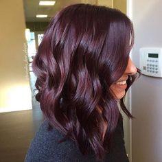 perfect fall hair colors ideas for women 12 ~ thereds.me perfect fall hair colors ideas fo Pelo Color Vino, Hair Color And Cut, Pinterest Hair, Ombre Hair, Hair Designs, Gorgeous Hair, Hair Looks, Dyed Hair, Hair Inspiration