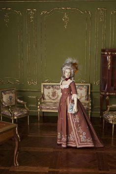 One twleve scale miniature doll by Cristina Noriega Moran