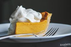 Roasted Mango Custard Pie - The Kitchenista Diaries