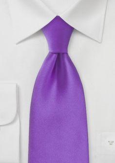 Purple Summer Necktie