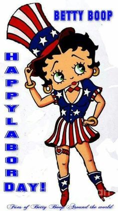betty boop labor day yankee doodle dandy black betty boop betty boop pictures