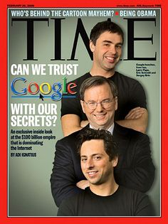 Sergey Brin (bottom) and Larry Page (top) met as students at Stanford University, where they created the internet search engine that would transform the web and enter the lexicon of the 21st century, though that's not what they set out to do.. #Inspiration