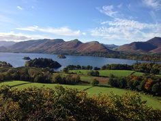 Derwent Water from Walla Crag - Oct 2013