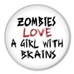 and this is the reason why i don't have a brain, the zombies would eat me.