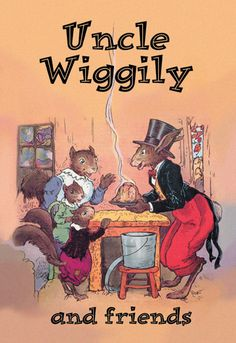 Children's book covers on Canvas Art Prints. [Uncle Wiggily and friends] Uncle Wiggily Longears is the main character of a series of children's stories by American author Howard R. Garis. He began writing the stories for the Newark News in 1910. Garis penned an Uncle Wiggily story every day (except Sundays) for more than 30 years, and published 79 books within the author's lifetime.According to his obituary in the Chicago Tribune, a walk in the woods in Verona, New Jersey was his…