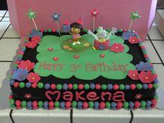 Dora Birthday Cake by @Marisa Russo
