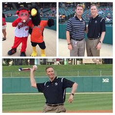 Anderson University President John Pistole threw out the first pitch at the Indianapolis Indians game on Tuesday evening. Enjoy pictures on Flickr where over 100 alums & friends attended! http://anderso.nu/alumni-victory-field