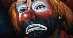 Libro di Cesare Paradiso «Il sorriso del pagliaccio triste»