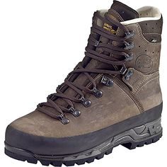 Meindl Island. Men's Boots MFS Active, GORE-TEX Brown Lether Snow Boot 10 UK