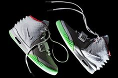 Nike Air Yeezy 2 Wolf Grey/Pure Platinum 2012