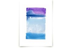 Violet Horizon by Chelsey Scott at minted.com