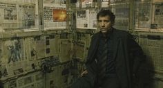 Children of Men - production design by Jim Clay and Geoffrey Kirkland - set decoration by Jennifer Williams Best Cinematography Movies, Children Of Men, The Shape Of Water, Clive Owen, Sci Fi Movies, Guy Pictures, End Of The World, Abandoned Houses, Science Fiction