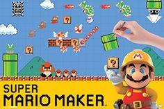 Super Mario Maker Nintendo Wii U Side Scrolling Platform Game System Cover Box Art Poster - 18x12 Pyramid America http://www.amazon.com/dp/B017I2TSNM/ref=cm_sw_r_pi_dp_8sVBwb00GCT9G