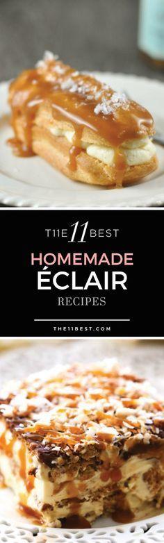 Eclair recipes More