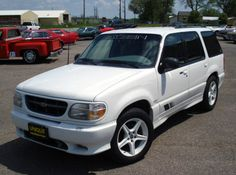 The Saleen Explorer: probably the most interesting Ford factory hot rod of the 90's