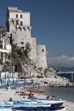 Cetara, Italy at Amalfi, province of Salerno Campania