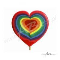 Serce - ręcznie wykonany lizak