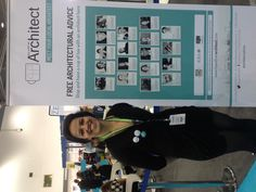 Gabrielle Omar at Tea with an Architect at Ecobuild