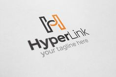 Check out Hyper Link - H Letter Logo by Arslan on Creative Market