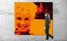 Exposición virtual / Título: Marilyn Monroe I (serie Cinema) / Medida original: 341 x 292 cm / Resolución: 120 p.p. / Formato de imagen: JPEG / Color estándar: CMYK / Peso digital: 79 Mb