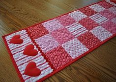 Valentine's table runner