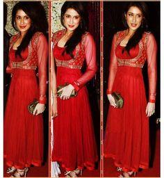Buy Sizzling Red Hot Koti Dress at Best Price - Kraftly