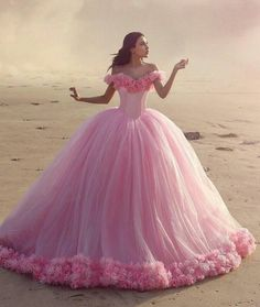 Formal Pink Ball Gown ~ aprettydaydream: |via- weheartit.com -   [Living a Simple and Blessed Life]