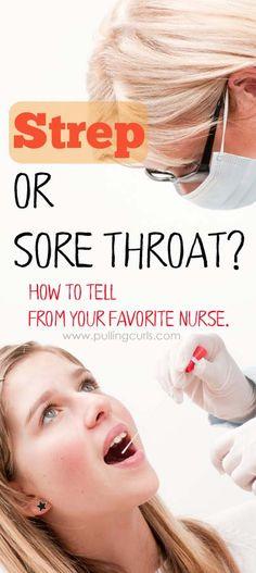 strep or sore throat   symptoms   treatment   doctor   antibiotics   baceteria   virus