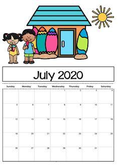 Free Printable Calendar Templates 2020 For Kids In Home inside Blank Calendar Template For Kids July Calendar, Kids Calendar, Free Calendar, Calendar Design, Calendar Ideas, Free Printable Calendar Templates, Excel Calendar, Blank Calendar Template, Free Printables