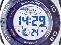 Relógio Masculino Surf More 1817451M Digital - Resistente à Água com Cronógrafo e Calendário com as melhores condições você encontra no Magazine Eraldoivanaskasj. Confira!
