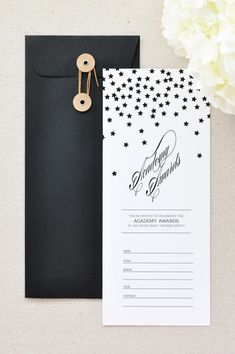 How to make your Oscar party fabulous with these free Oscar printables. These Oscar party printables include free printable invitations, printable oscar nominations, and printable oscar ballot. Carton Invitation, Invitation Cards, Party Invitations, Stationery Design, Invitation Design, Wedding Stationery, Free Printable Invitations, Party Printables, Free Printables
