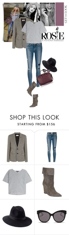 """""""Airport style the RHW way..."""" by matilda66 ❤ liked on Polyvore featuring Whiteley, Yves Saint Laurent, Paige Denim, rag & bone, Penmayne of London, Blanc & Eclare, Givenchy, polyvoreeditorial, rosiehuntington and celebairportstyle"""