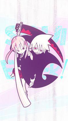 Maka Albarn and Soul Eater Evans Anime Soul, All Anime, Me Me Me Anime, Anime Art, Manga Anime, Soul Eater Evans, Soma Soul Eater, Soul Eater Manga, Soul Eater Not