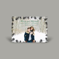 Merry and Married 5x7 Christmas Card (10 pk)