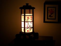 japanese cherry blossom lamp