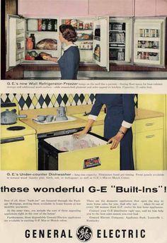 The 1955 GE Wonder Kitchen.