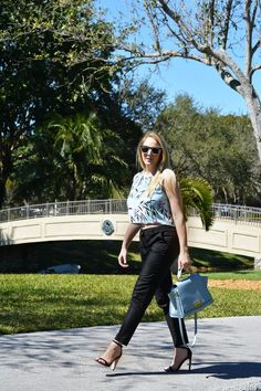 Fashion | Blue & Berry | The MIAMI Rose #OOTD