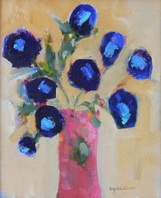 """Daily Paintworks - """"Imagination, Contemporary Flor..."""" by Amy Whitehouse"""